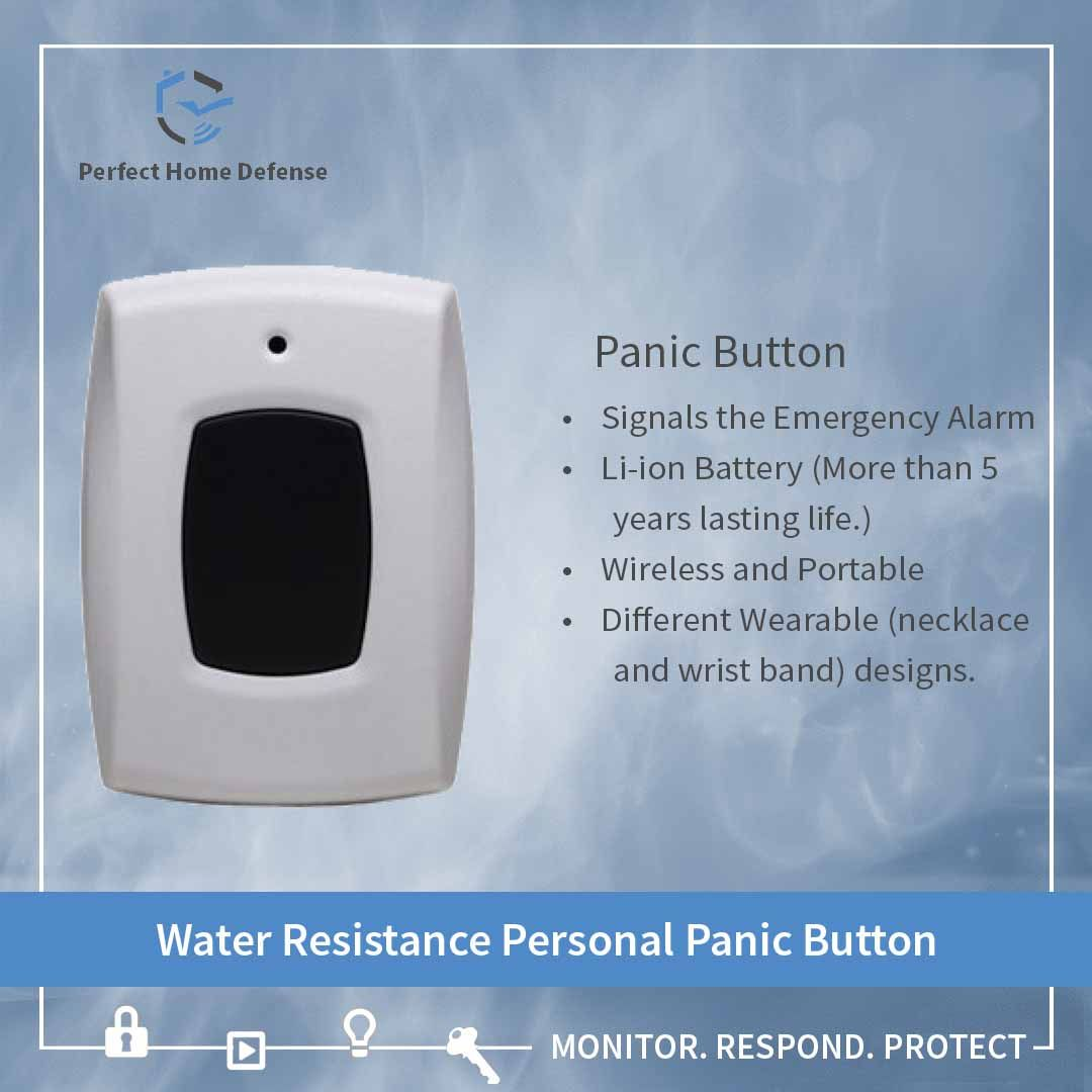 By Pressing The Panic Button In Case Of An Emergency Or Any Alarming Situation An Elderly Child Or A Patient Can Quick Home Defense Home Security Security