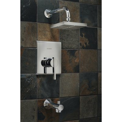 American Standard Chrome 1 Handle Tub And Shower Valve Included With