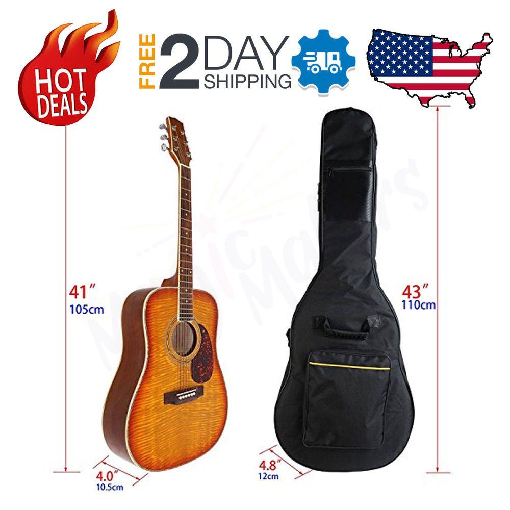 Ibanez Acoustic Guitar Gig Bag Gretsch Waterproof Gigbag Dual Strap Backpack 43 Acoustic Guitar Gigbag Ibanez Gret With Images Ebay Selling Tips Selling On Ebay Bags