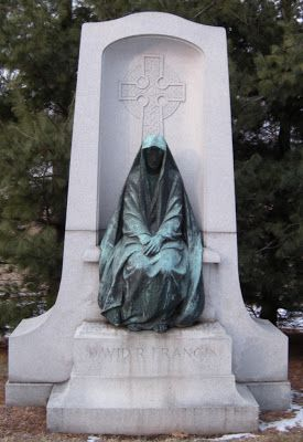 Located in Bellefontaine Cemetery in St. Louis, MO) Sculpted by George J. Zolnay. Escape to the Silent Cities: Bellefontaine