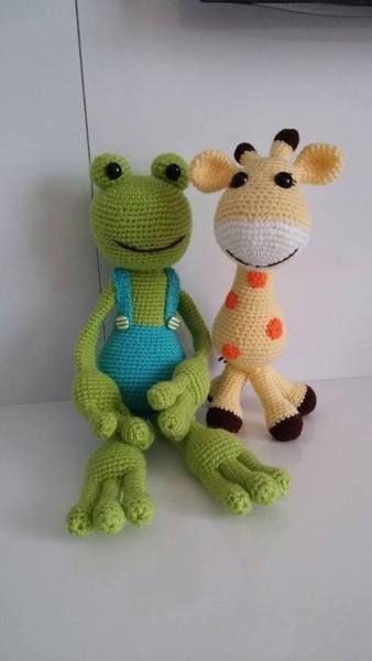 Frosch König und Giraffen Königin*** von CrAtiveHands auf DaWanda ...