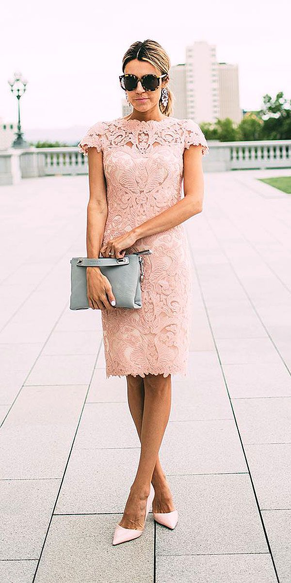 Cute wedding guest outfits and dresses