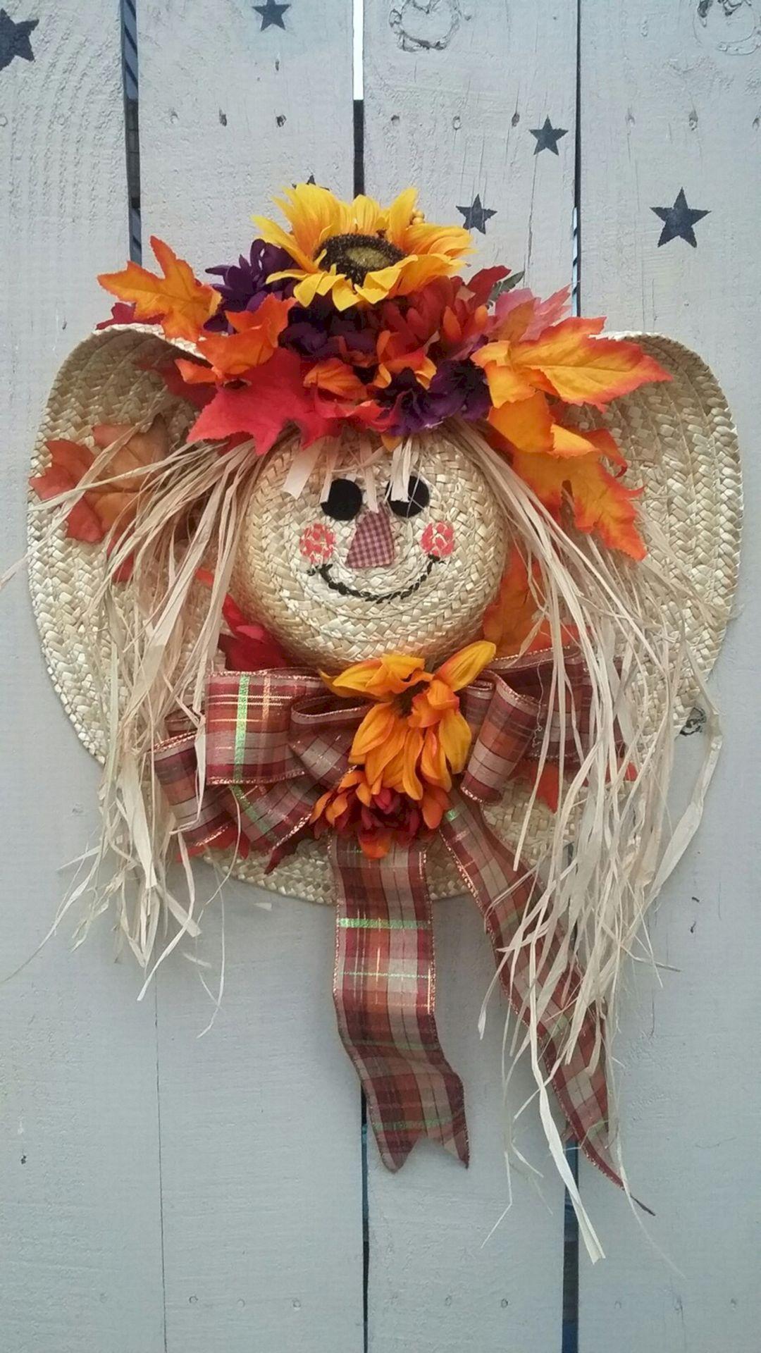 Best Ideas To Create Fall Wreaths Diy: Top 30 Handy Inspirations #diyfalldecor