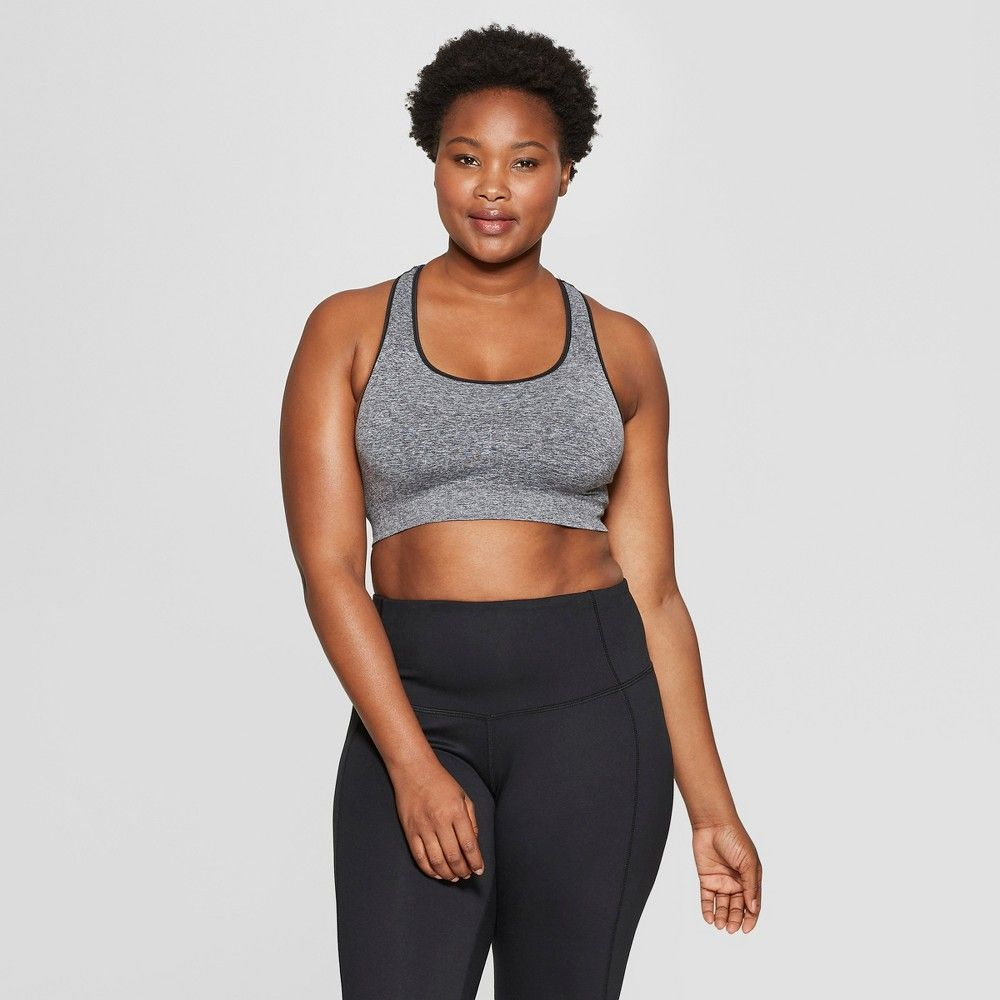 35181fa6a5bff Featuring our patented seamless design the Women s Seamless Racerback  Sports Bra from C9 Champion is your go-to bra for medium support and  coverage.
