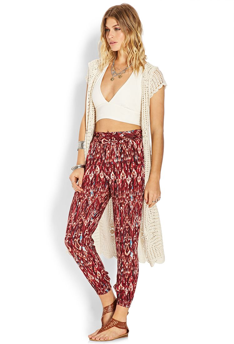 distinctive style super quality new style & luxury Sandstone Ikat Joggers | FOREVER21 | Style | Jogger pants ...