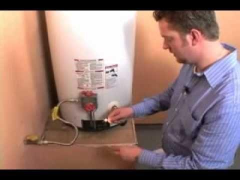 Video How To Relight A Water Heater Pilot Light Ehow Hot