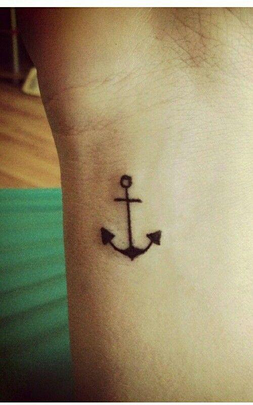 Small Anchor Tattoo Small Anchor Tattoos Simple Anchor Tattoo
