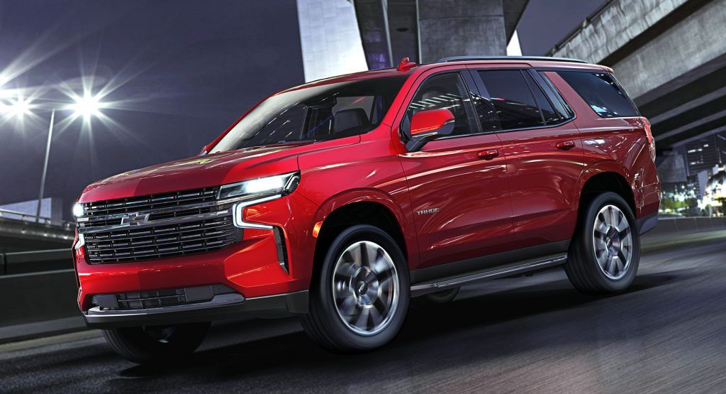 2021 Chevrolet Tahoe And Suburban Put On A More Dramatic Face Gain