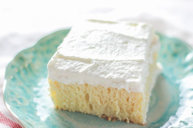Soft & Moist Tres Leches Cake - This is quite possibly the easiest AND moistest cake you ever did bake AND you ever did taste!