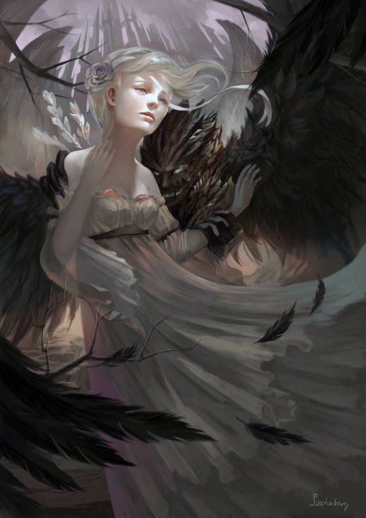 As incríveis ilustrações de fantasia de Kamila Szutenberg