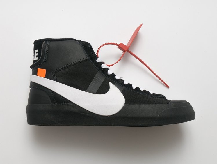 "3616328e Off-White x Nike Blazer Studio Mid ""Black""   Nike Shoes in 2019 ..."