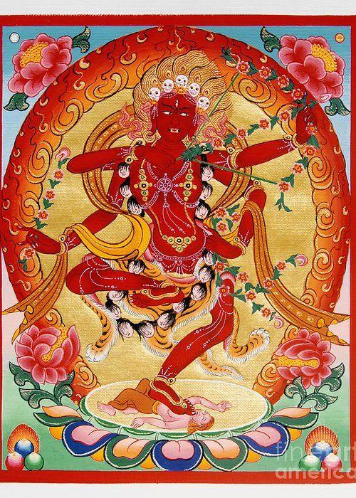 Kurukulla, Goddess of Protection against Love and Desire