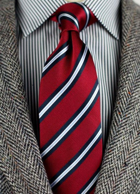 Custom designed Repp Tie | Our Custom Ties + Scarves ...