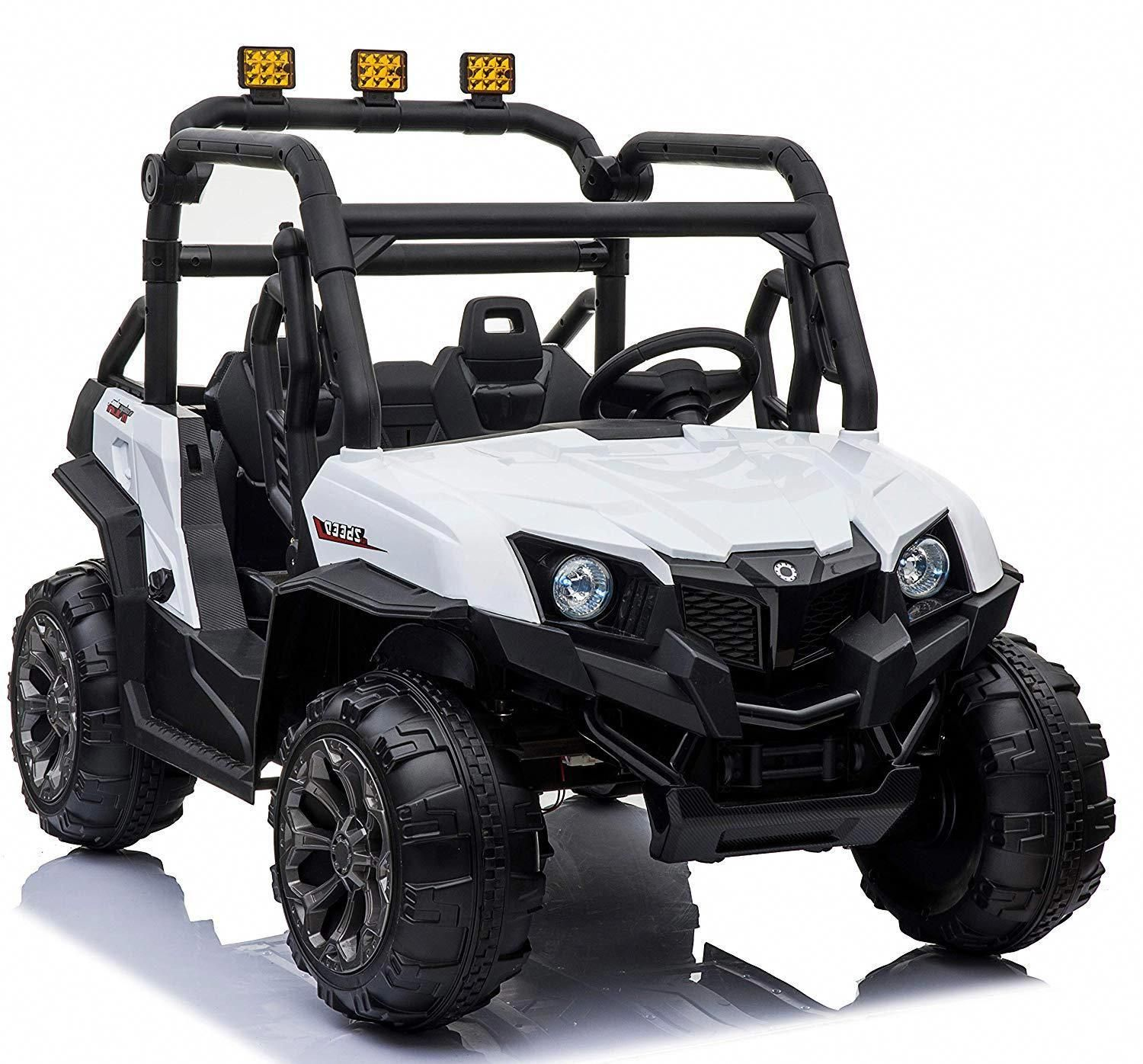 Two Seater 4 Wheel Drive Buggy Toy Electric Car 12v Battery 8988