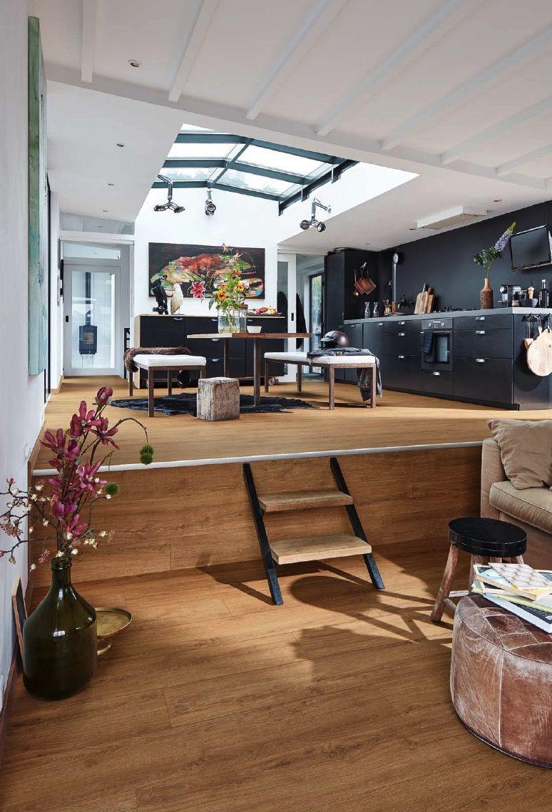 designboden meisterdesign golden oak 6999 holznachbildung meisterdesign der vinylboden. Black Bedroom Furniture Sets. Home Design Ideas