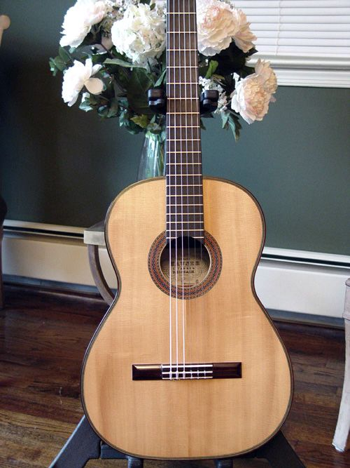 Herman Hauser Andres Segovia Model Classical Guitar Sold For 12 500 00 I Can Only Imagine The Tone Music Guitar Classic Guitar Classical Guitar