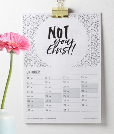 kalender 2018 ordnung pinterest kalender 2018. Black Bedroom Furniture Sets. Home Design Ideas