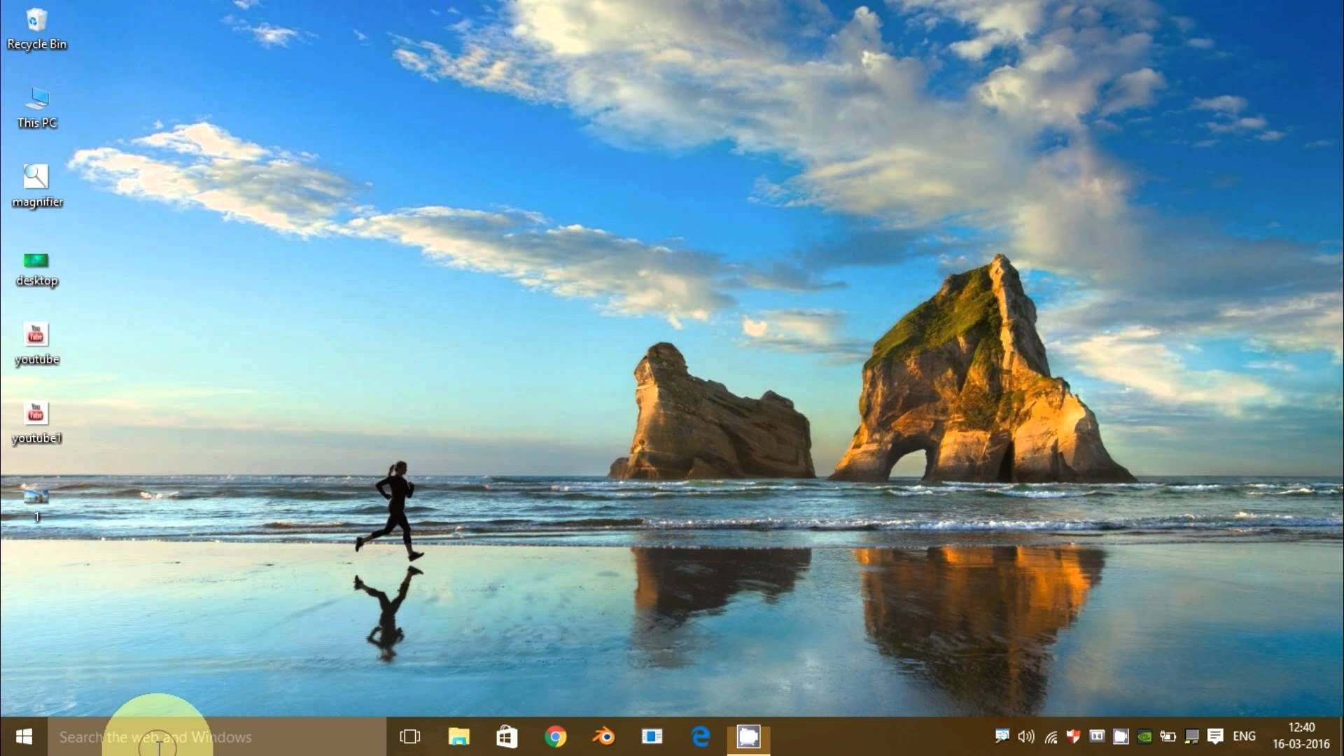 How to enable cortona feature in windows 10within 1
