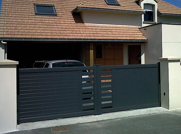 branksome driveway gate manual and electric driveway gate home other pinterest rund. Black Bedroom Furniture Sets. Home Design Ideas