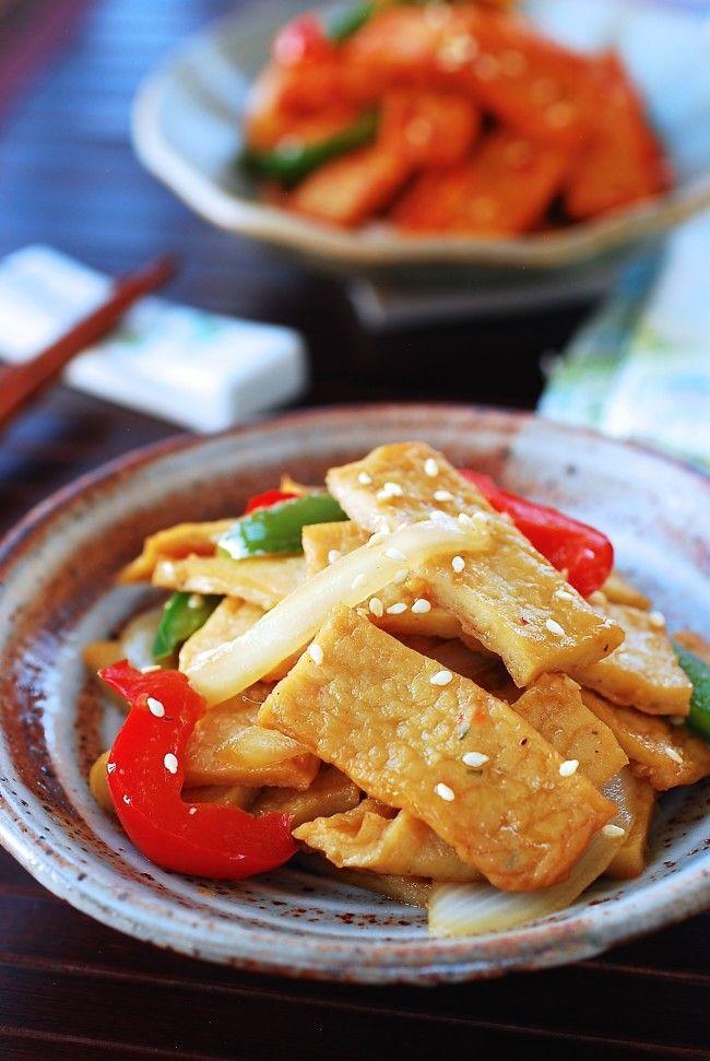 Eomuk Bokkeum Stir Fried Fish Cake Recipe Fish Cake Korean Side Dishes Food