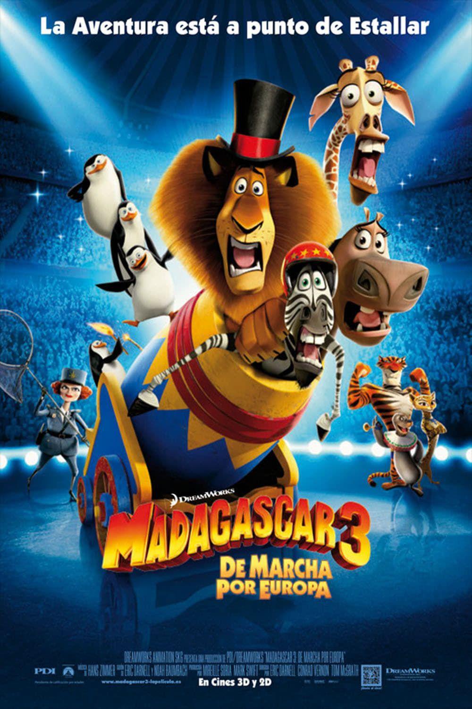 Infos sur Madagascar 3 Bons Baisers D'Europe
