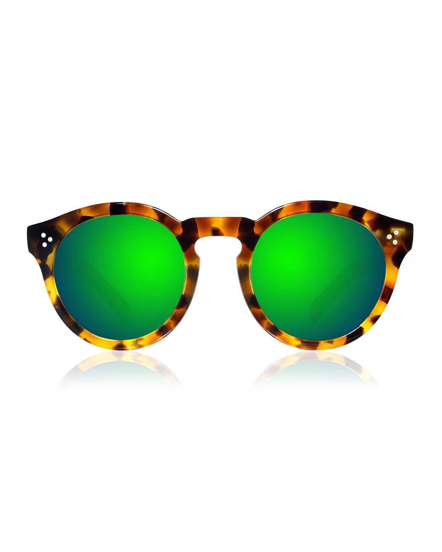 be31e099c88 Illesteva Leonard II Mirror Sunglasses