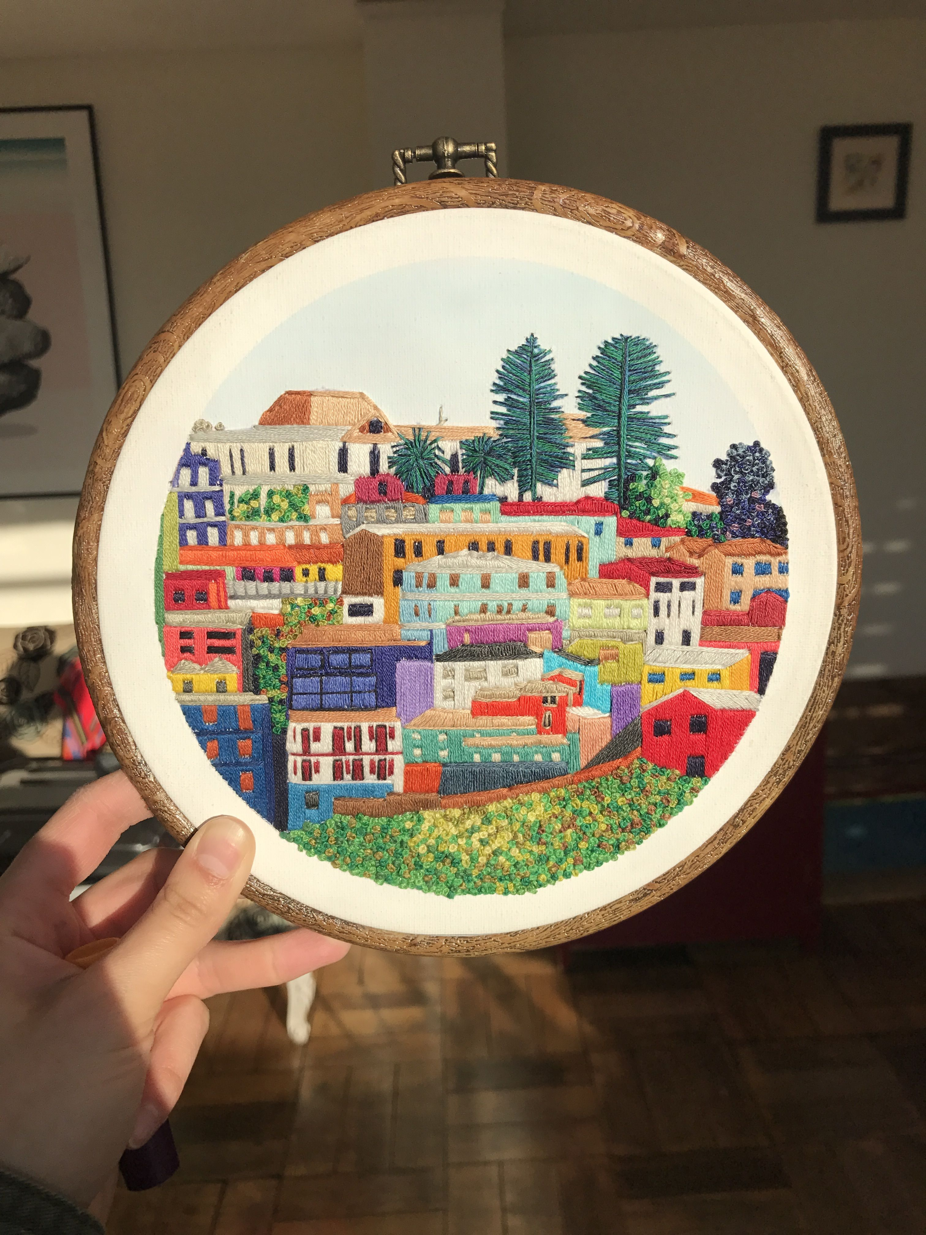 bordado #valparaiso | Knit | Pinterest | Valparaiso, Bordado y ...