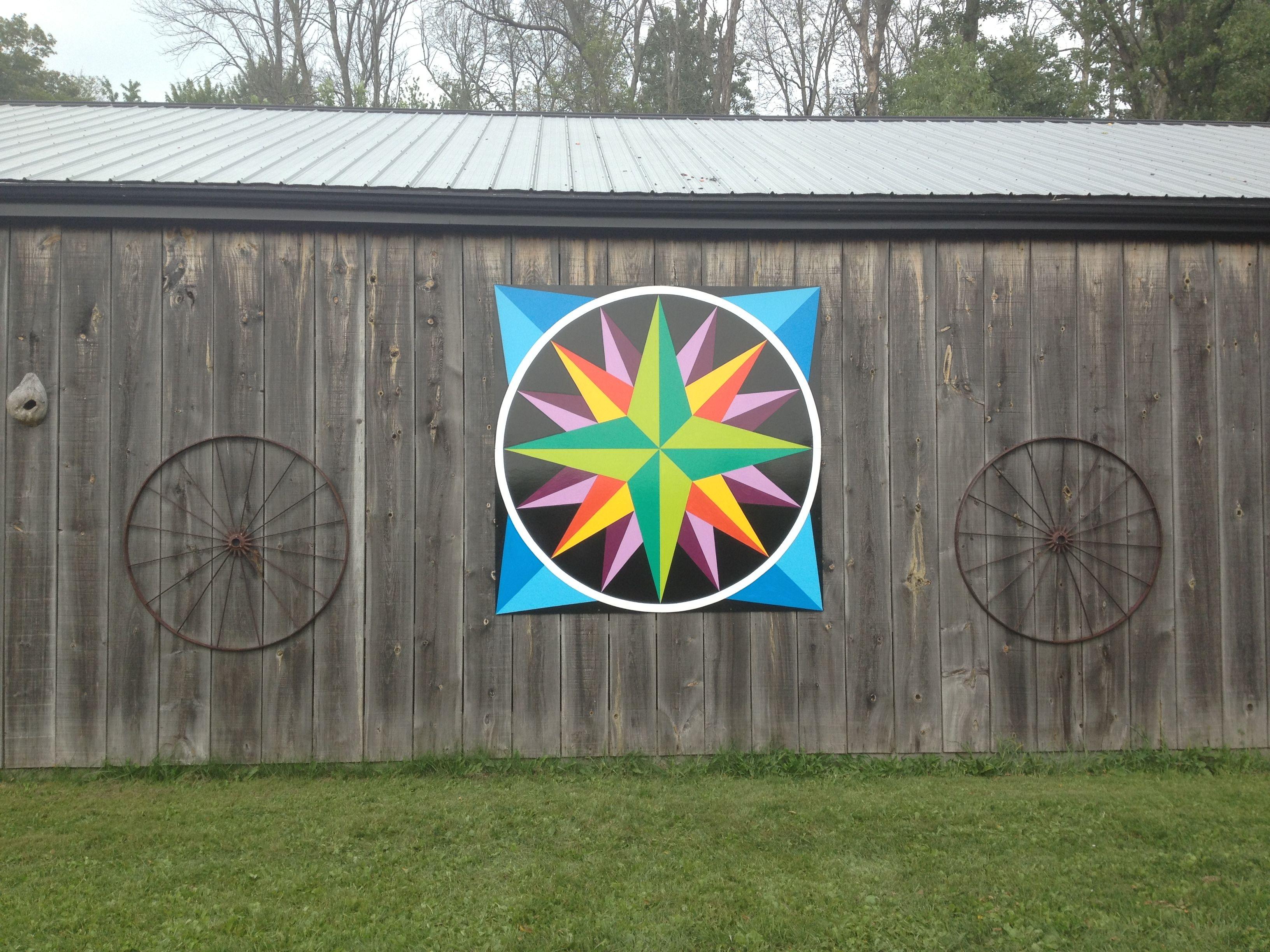 Poplar Hill, ON. 7' Barn Quilt | Buy a Barn Quilt ...