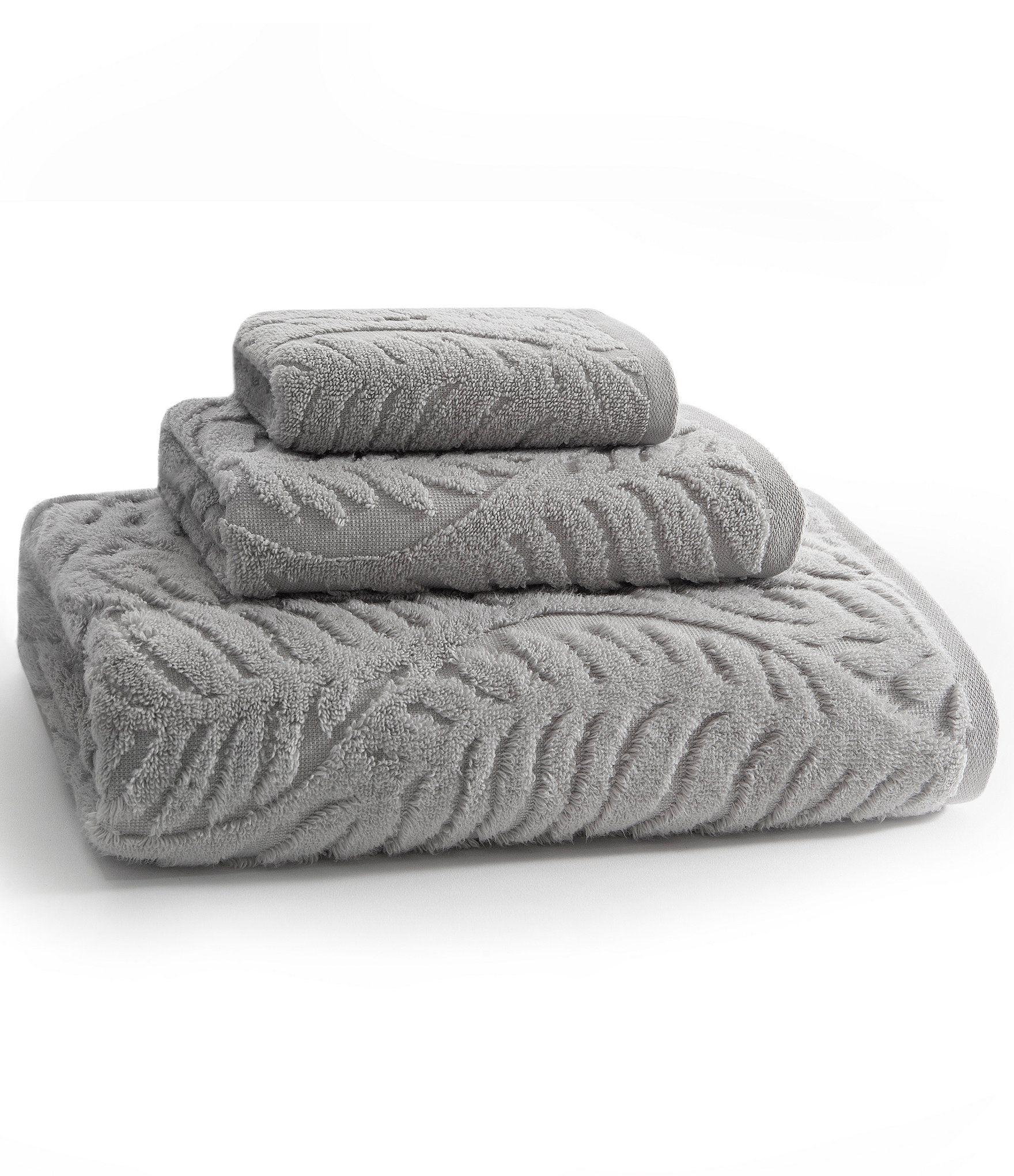 Kassatex Palma Combed Long Staple Turkish Cotton Bath Towels In