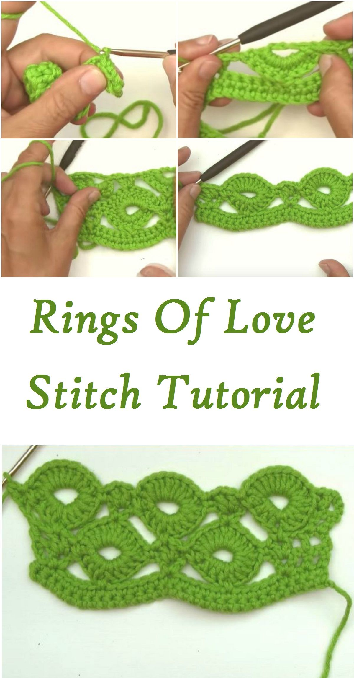 Rings Of Love Stitch Free Tutorials Very useful Stitch Perfect For ...