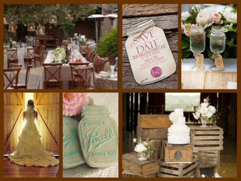 Country Wedding Theme Country Rusticwestern Theme Pinterest