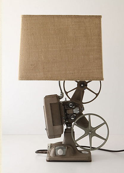 Iu0027ve Got To Make This Anthropologie Projector Lamp   Using This Diy From I