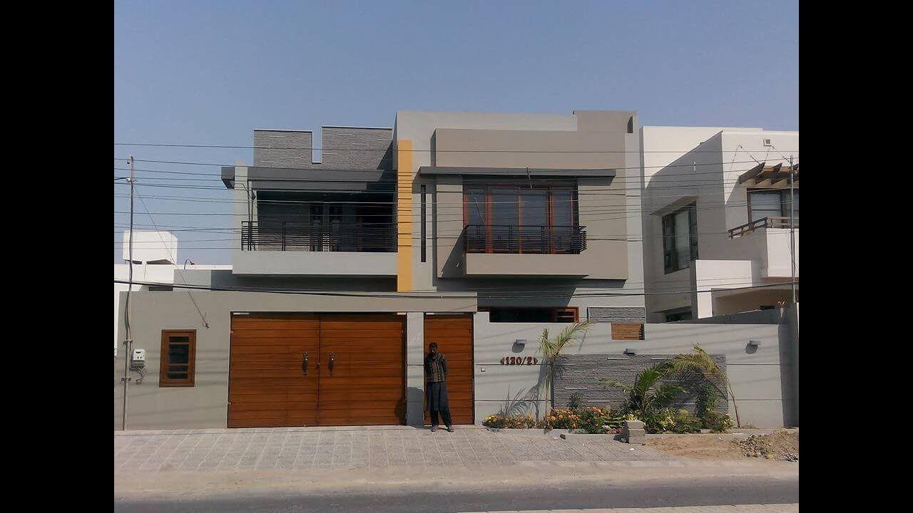 1 Kanal Modern House In Karachi 500 Sq Yd Home