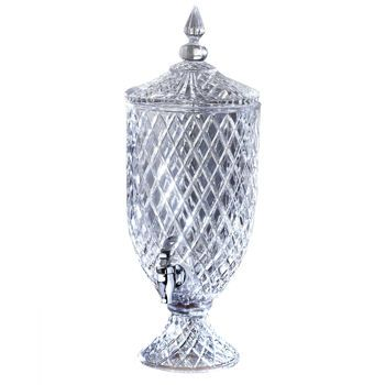 Fifth Avenue Crystal Muirfield 1 5 Gallon Beverage Dispenser