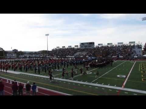2016 Liberty Vs Freedom Football Game Pregame Band Show Youtube Soccer Field Football Games Liberty