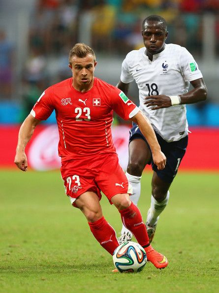 Xherdan Shaqiri Photos Photos Switzerland V France Group E World Cup Fifa World Cup Inter Milan