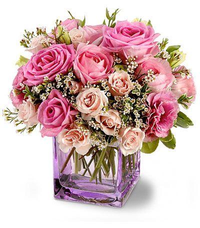 Precio bouquet de rosas. Quedará increible en el salón de la persona que quieras. Te lo enviamos a domicilio el día y hora que elijas!
