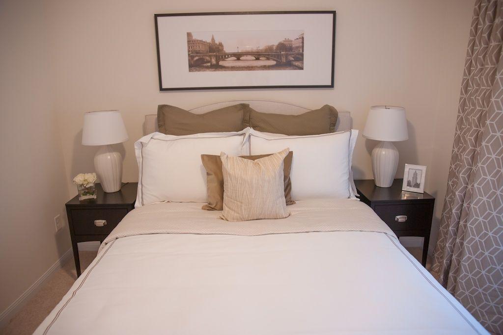 Drapes In Bethe Pearl (Linen) Soho Nightstands By @Geovin Furniture   A  Daniels
