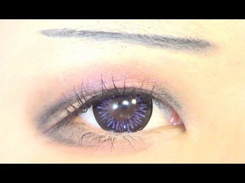Tutorial : Anime Eye Makeup 31