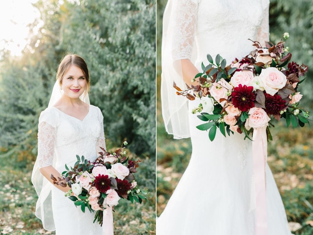 romantic ethereal blush garden rose wedding bouquet flowers utah calie rose wwwcalierosecom