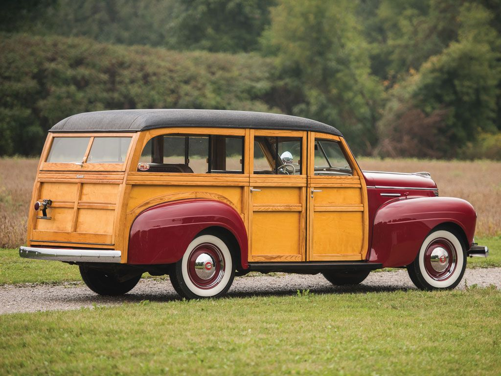 1940 Plymouth Deluxe Station Wagon Hershey 2015 Rm Sothebys 1941