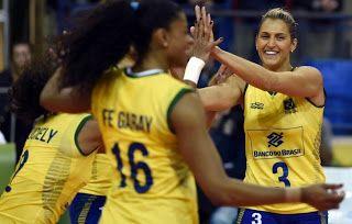 Blog Esportivo do Suíço:  Em 1º passo rumo aos Jogos, Brasil espanta frio e vence Rep. Dominicana