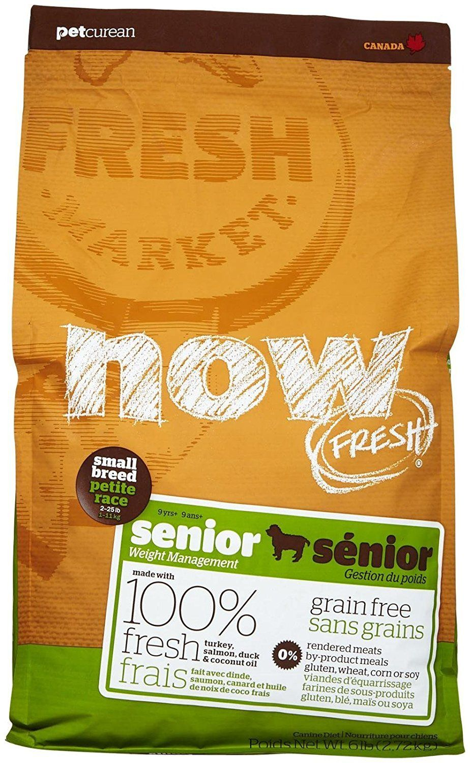 Now Fresh Grain Free Small Breed Senior Recipe 6lb For More Information Visit Image Link This Is An Affiliat Kitten Food Dog Food Recipes Dry Cat Food