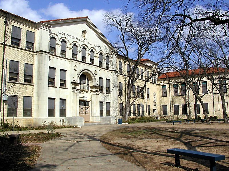 Amon CarterRiverside High School, 3301 Yucca Avenue, Fort
