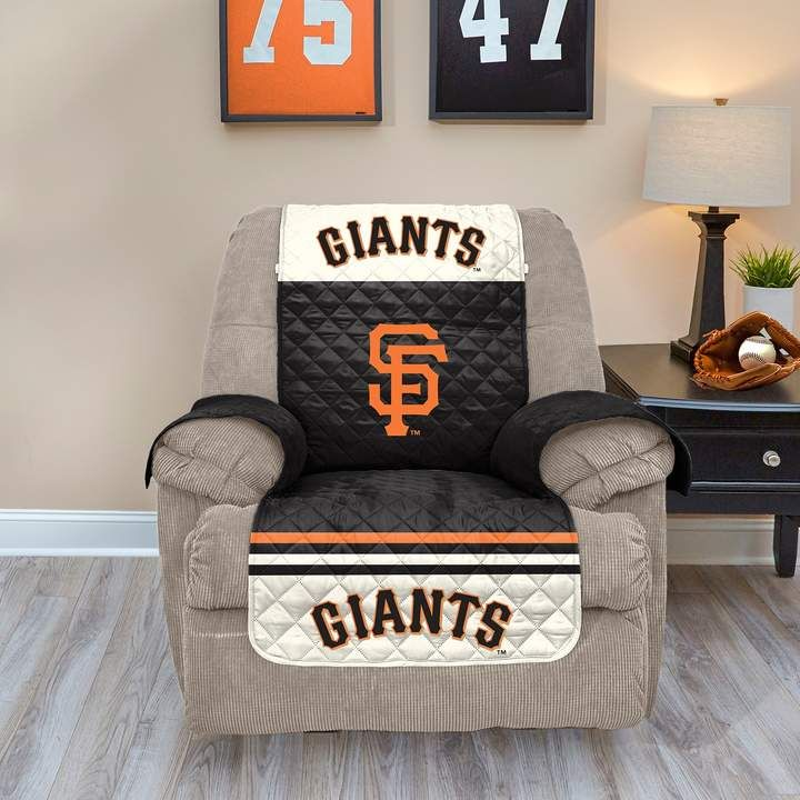 Brilliant San Francisco Giants Quilted Recliner Chair Cover Spills Squirreltailoven Fun Painted Chair Ideas Images Squirreltailovenorg
