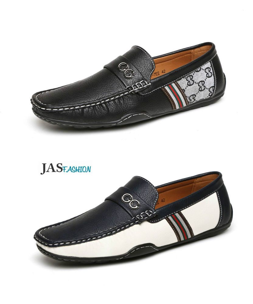MENS LOAFERS DECK MOCCASIN DRIVING CASUAL PARTY ITALIAN SLIP ON SHOES 6-12