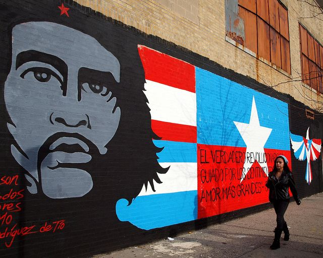 Che Guevara Graffiti Mural East Harlem New York City Graffiti Murals Nyc Graffiti Graffiti
