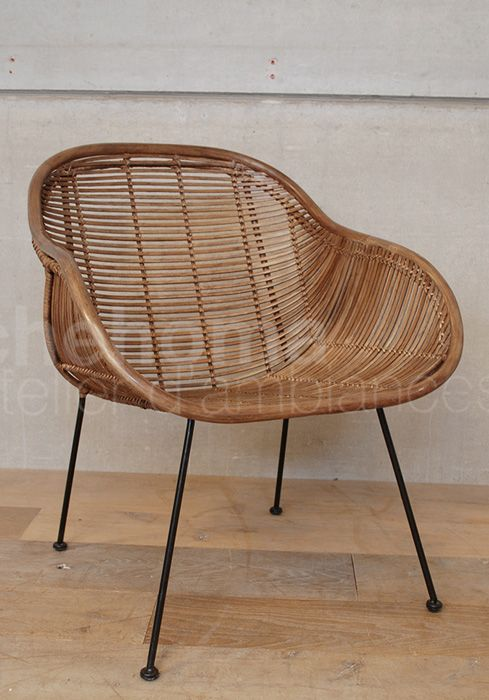 Pomax Rattan Wicker Chair Dub Artment Pinterest