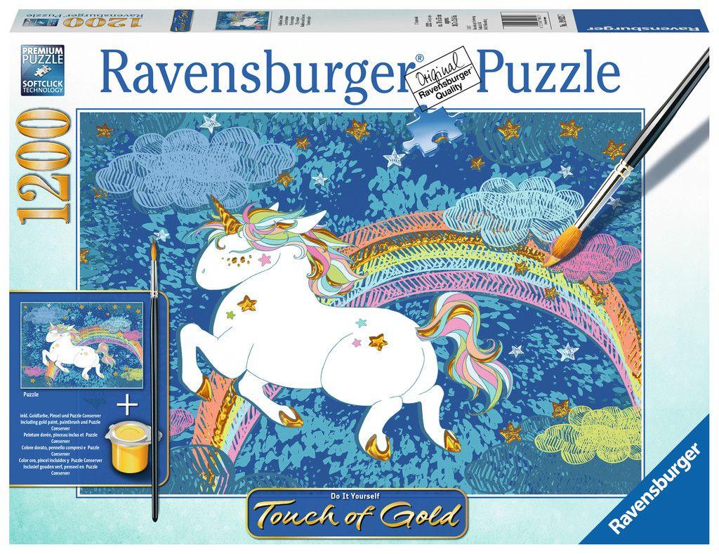 Ravensburger Puzzle - Glückliches Einhorn - 1200 Teile