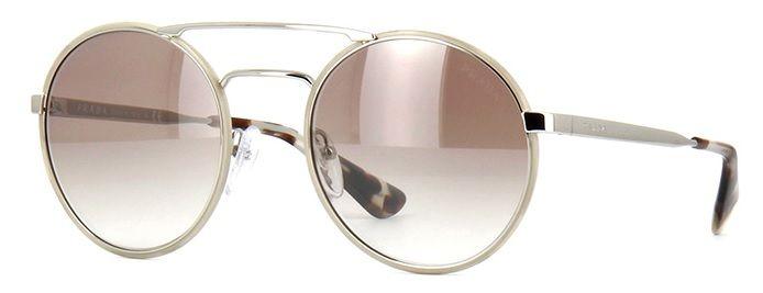 9a283b5651791 Óculos de sol Prada Cinéma 51SS Havana Rosê Degradê Espelhado - PRADA você  encontra aqui.